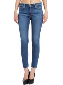 The Middi Ankle skinny jeans