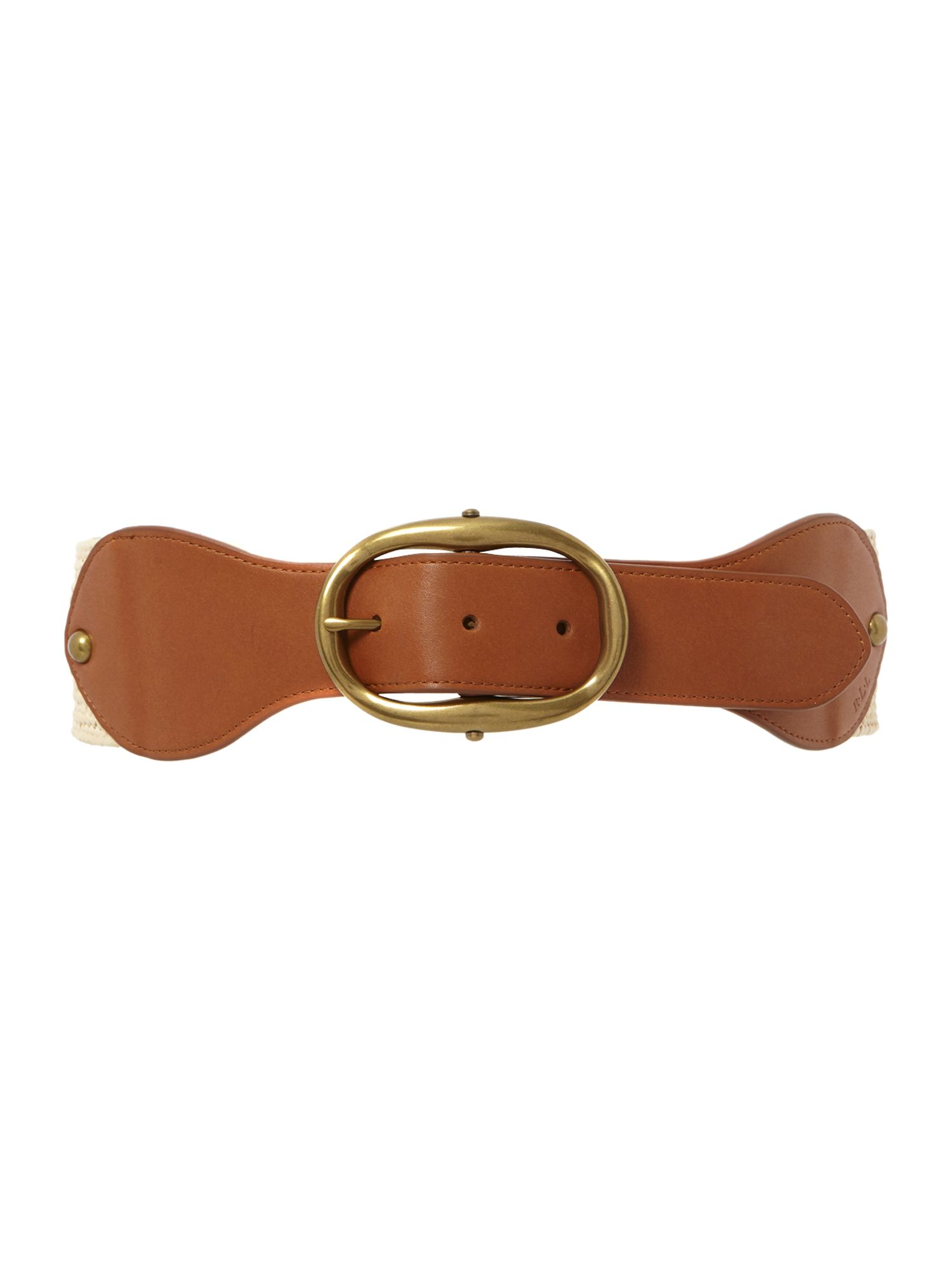 Stretch jute interlock belt