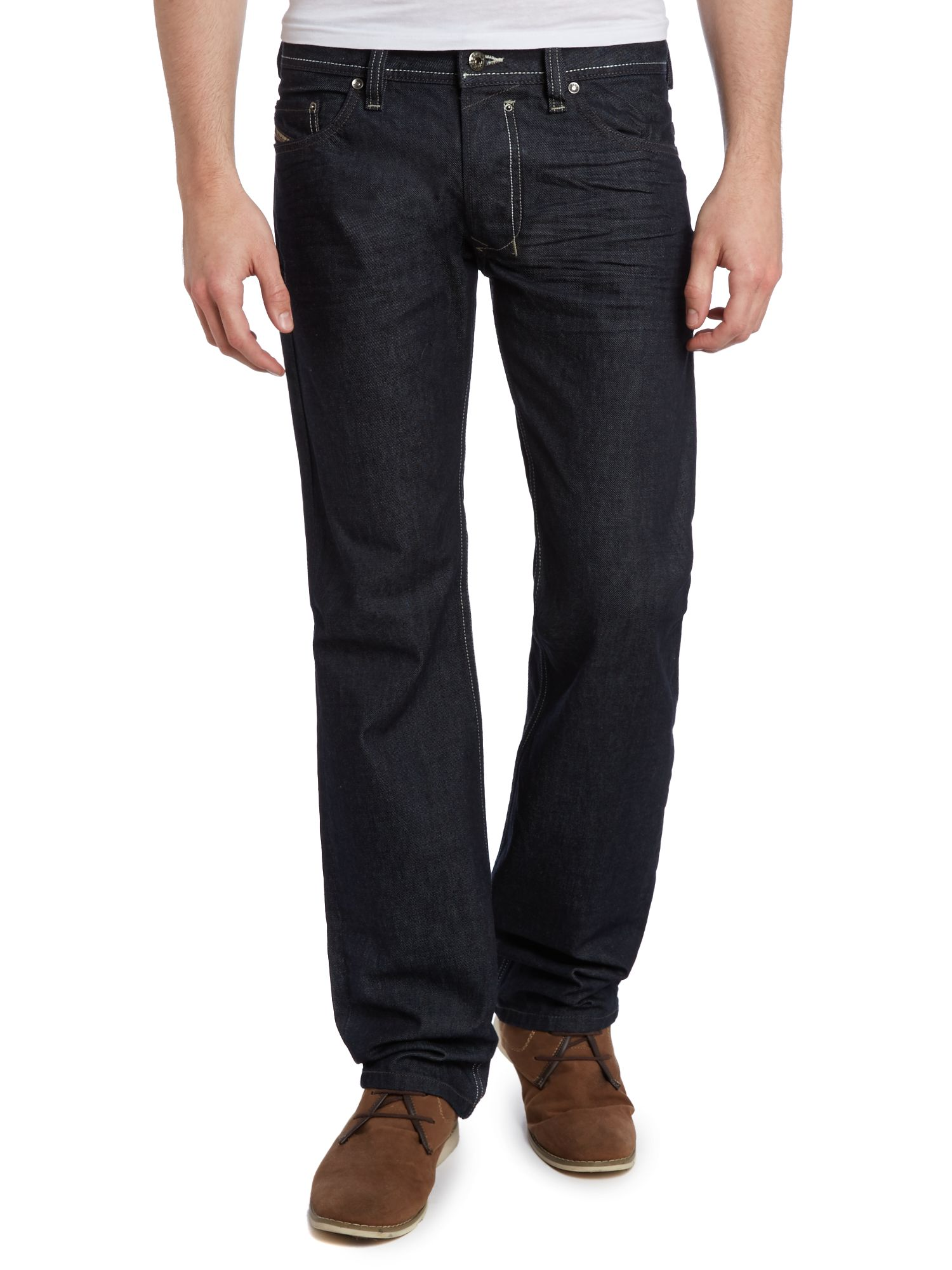 Safado 8Z8 straight leg dark wash jean