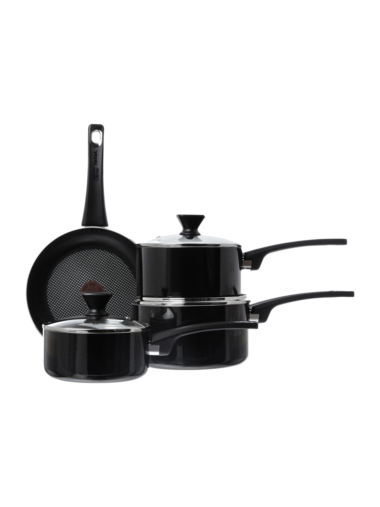 Jamie Oliver by Tefal Jamie Oliver by Tefal Essential Siers 4 piece set