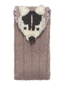 Pawsfield badger phone case