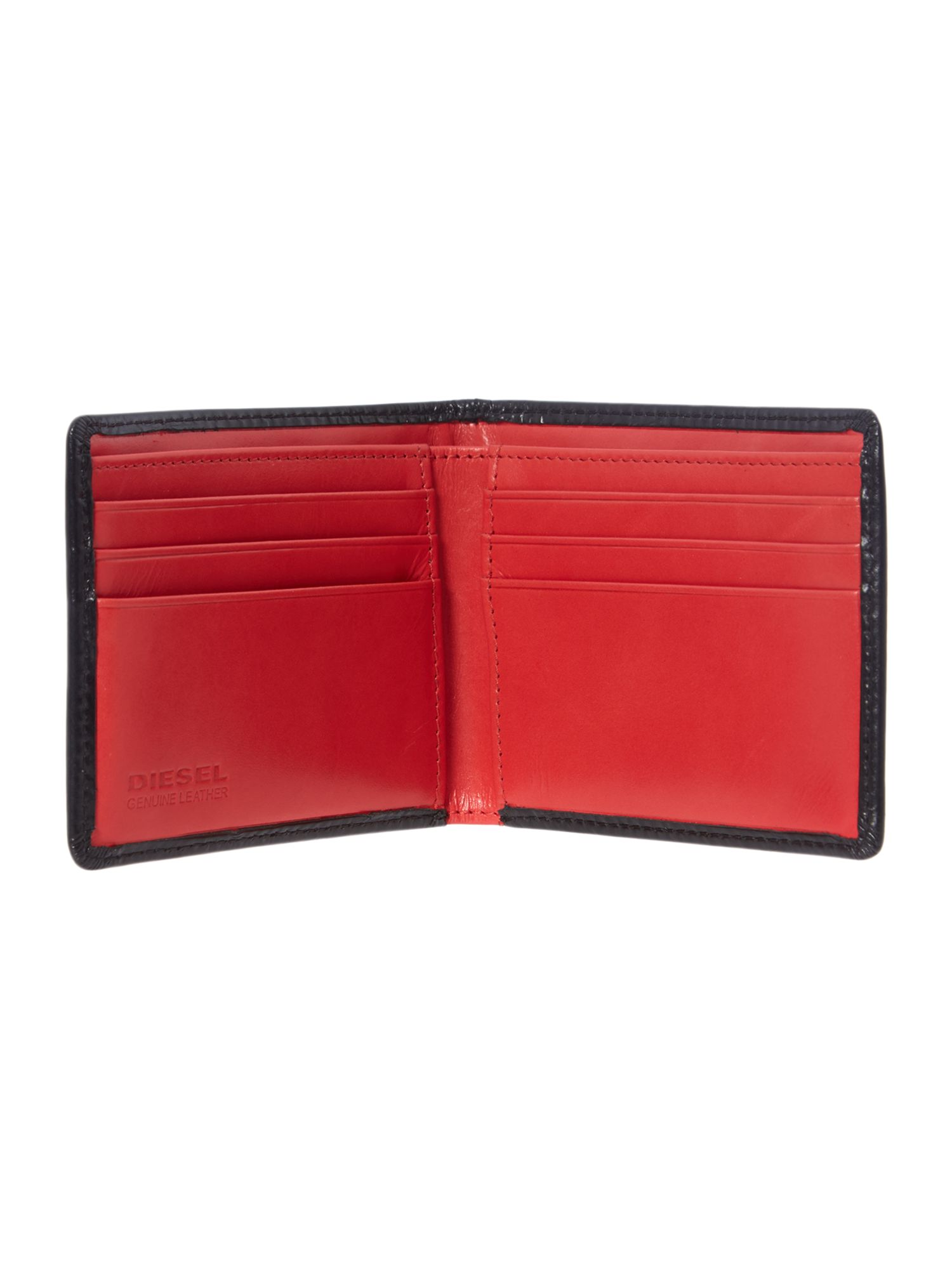 Neela colour block billfold wallet
