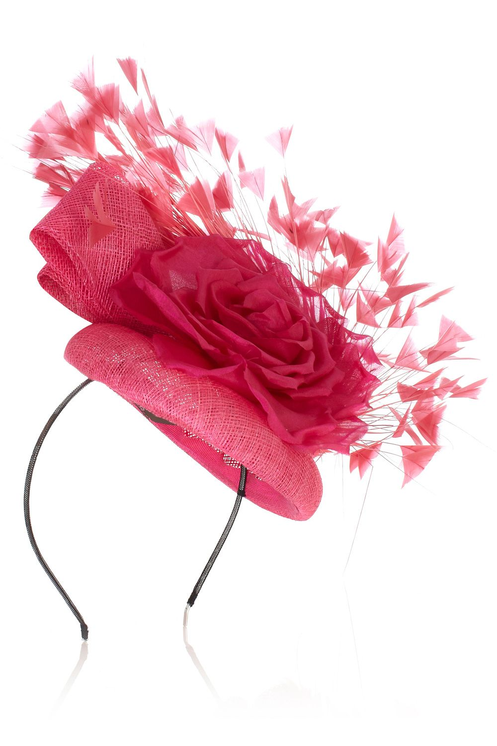 Statement Flower Spray Hat