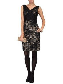Gloria embroidered dress