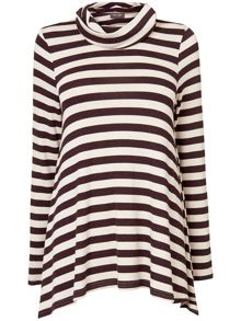 Nora stripe top