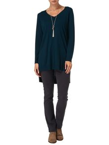 Savanna step hem tunic