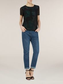 Palm print overlay t-top