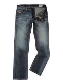 Safado 885k straight leg dark grey wash jean