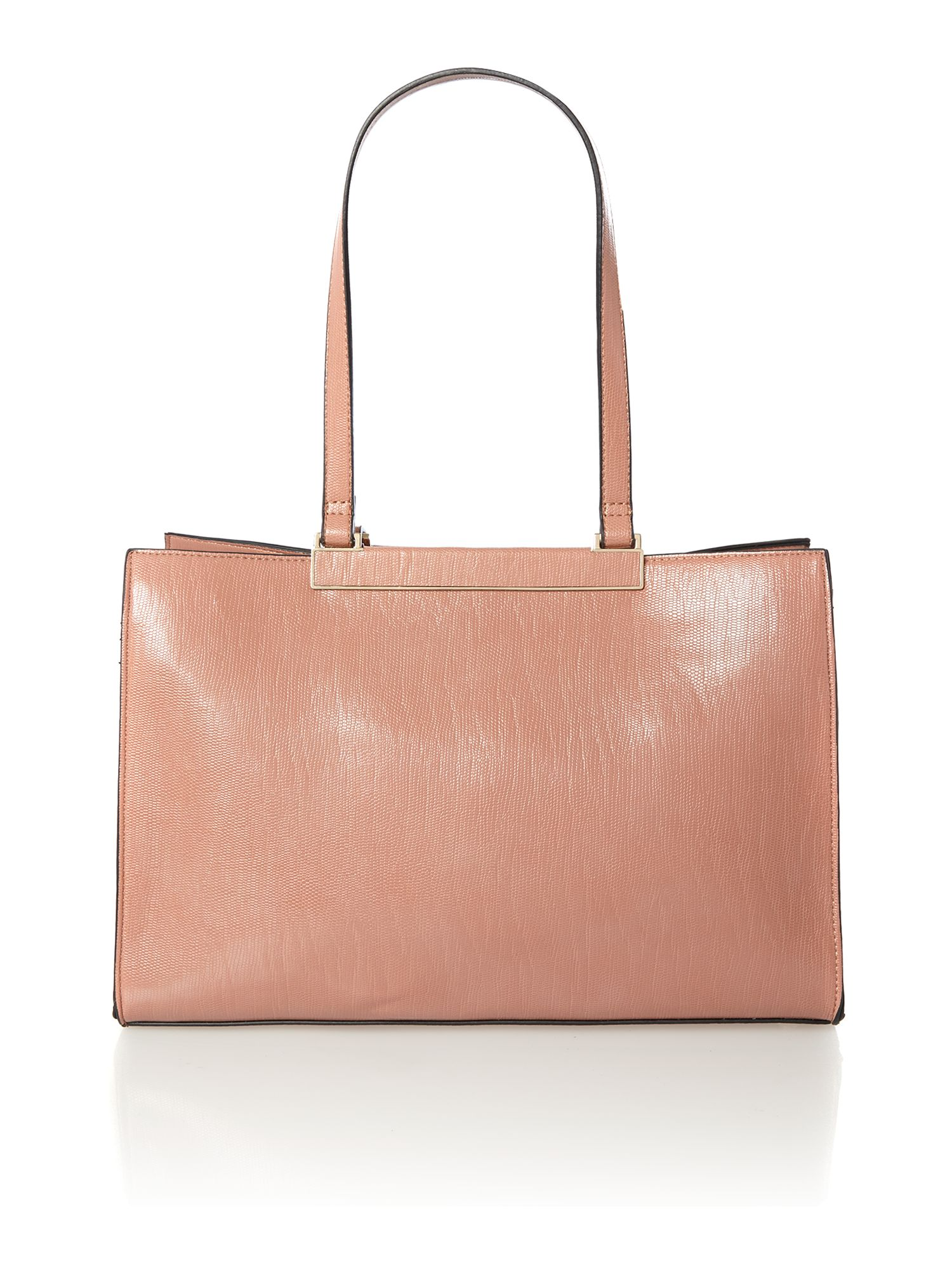 Pink medium tote bag