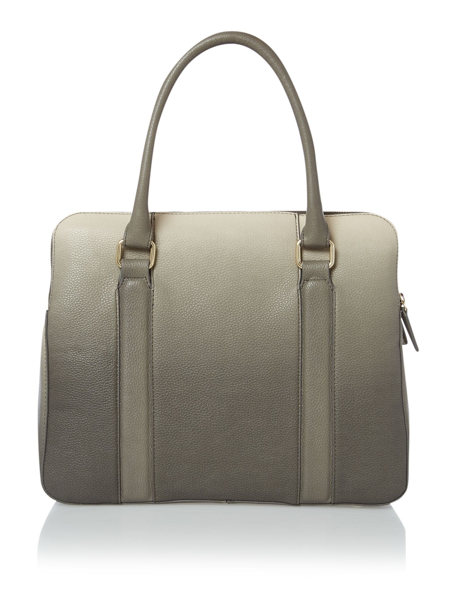 Grey ombre medium tote bag
