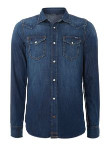 2 Pocket Denim Shirt