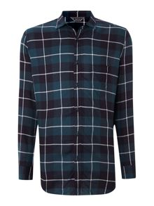 Diesel Long Sleeve Big Check Shirt