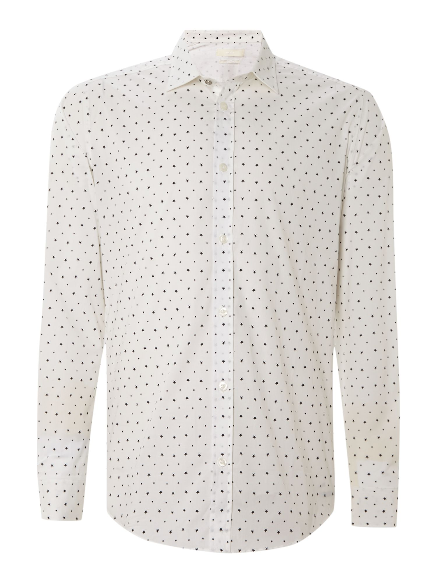 All over star print shirt