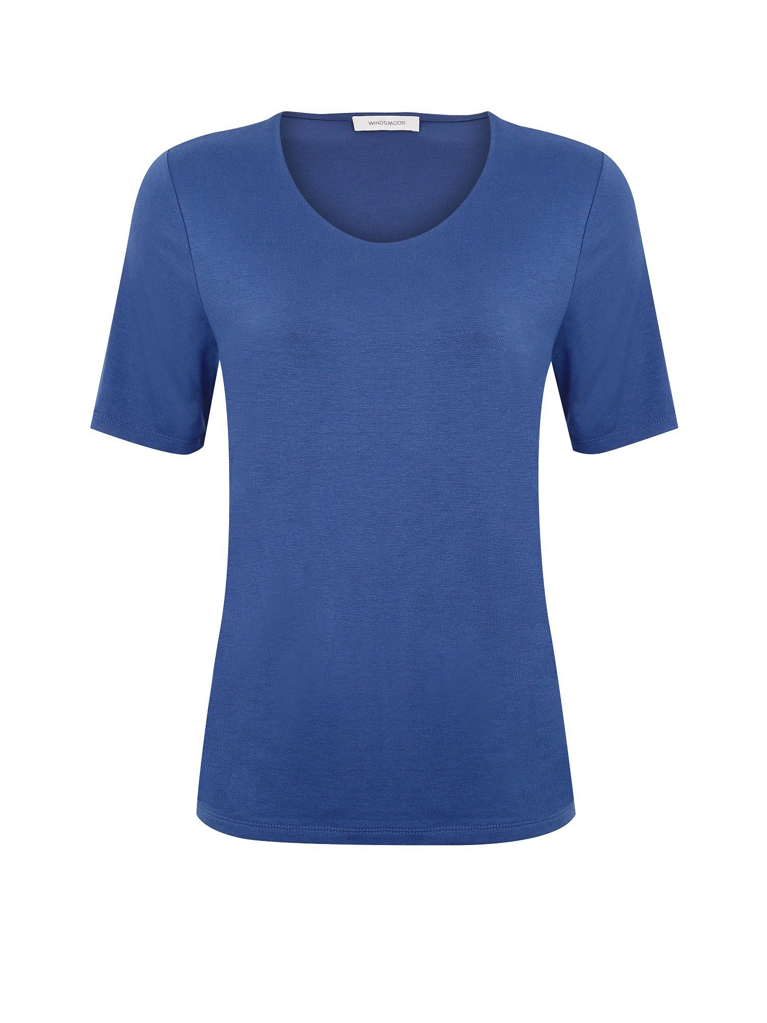 Basic indigo top