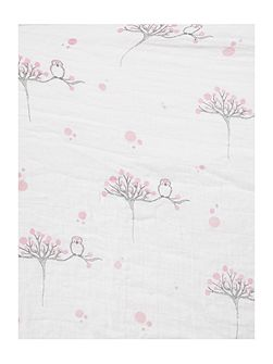 Babys fitted muslin changing mat cover