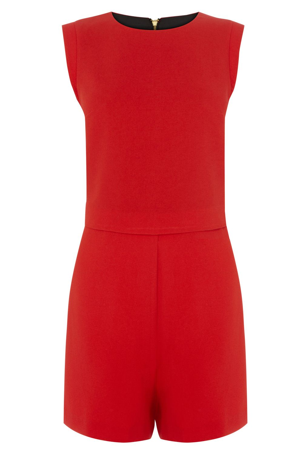Lana crepe playsuit