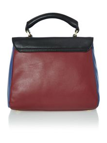 Izzy multi-coloured cross body bag