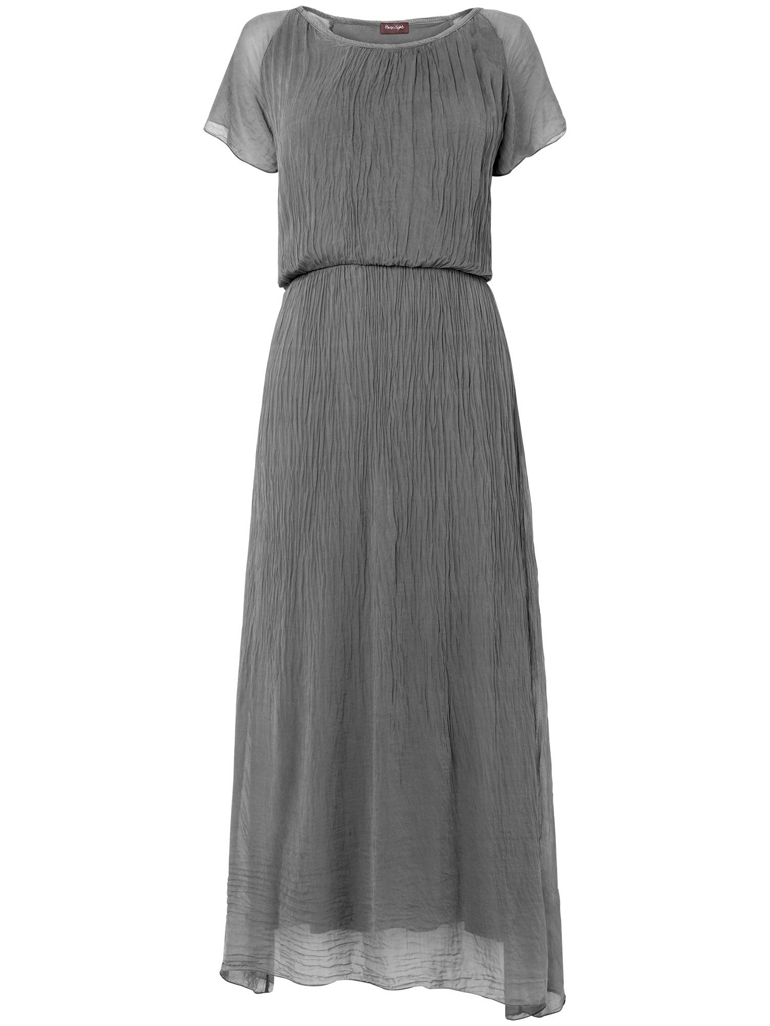 Rae silk maxi dress