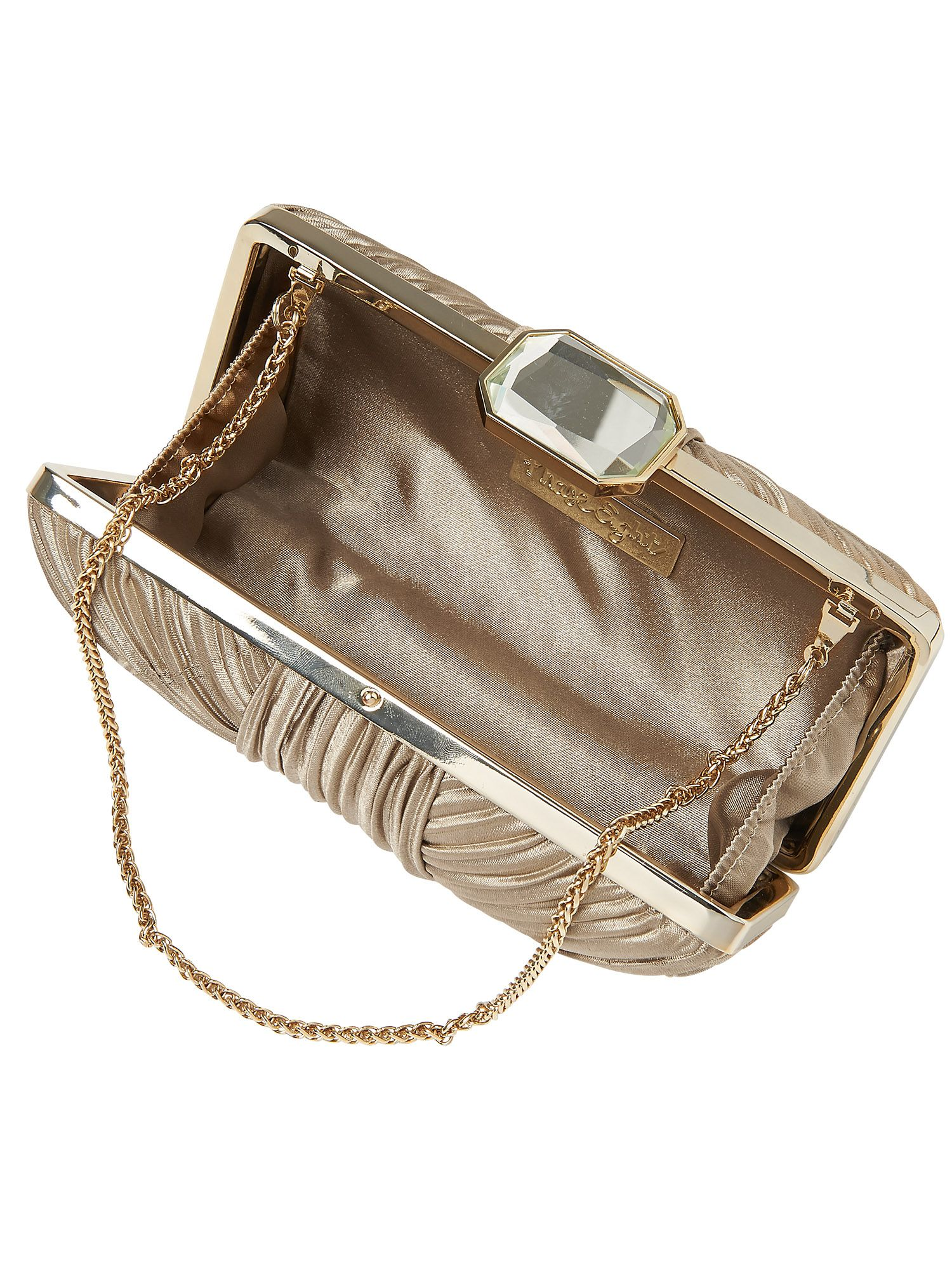 Macy jewel clasp bag