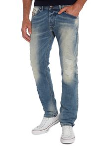 Belther 830J tapered stonewash jeans