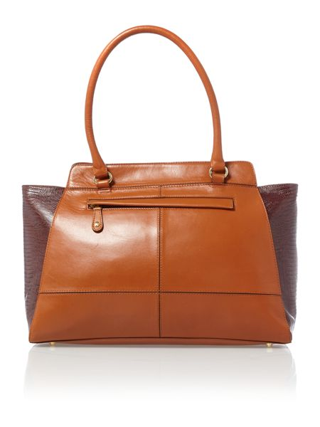 Marlow large tan shoulder bag