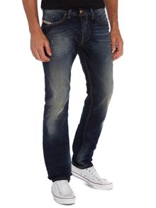 Belther 608A dark rinse slim taper jeans