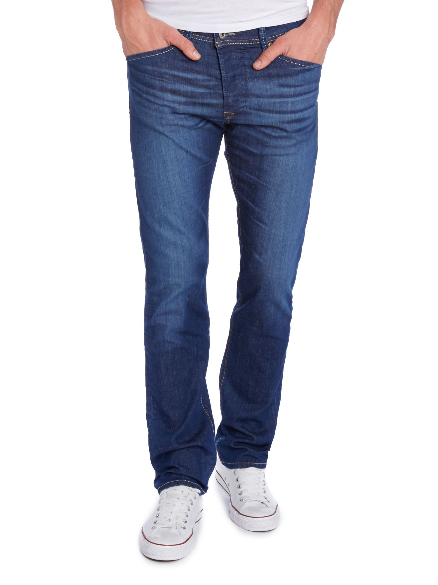 Darron 607I rinse regular slim fit jeans