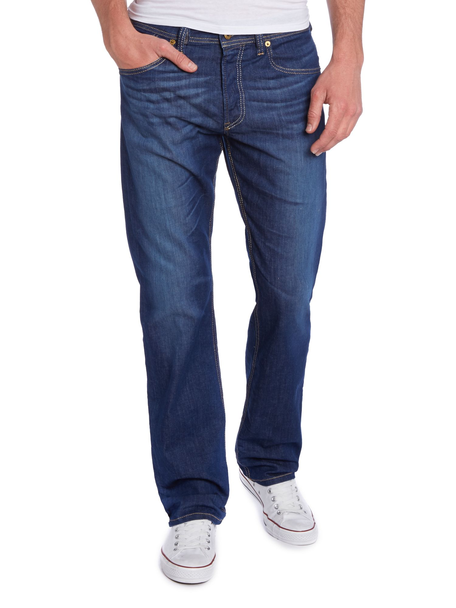 Larkee relaxed straight leg jeans