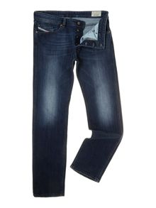 Waykee 841W straight leg dark wash jean