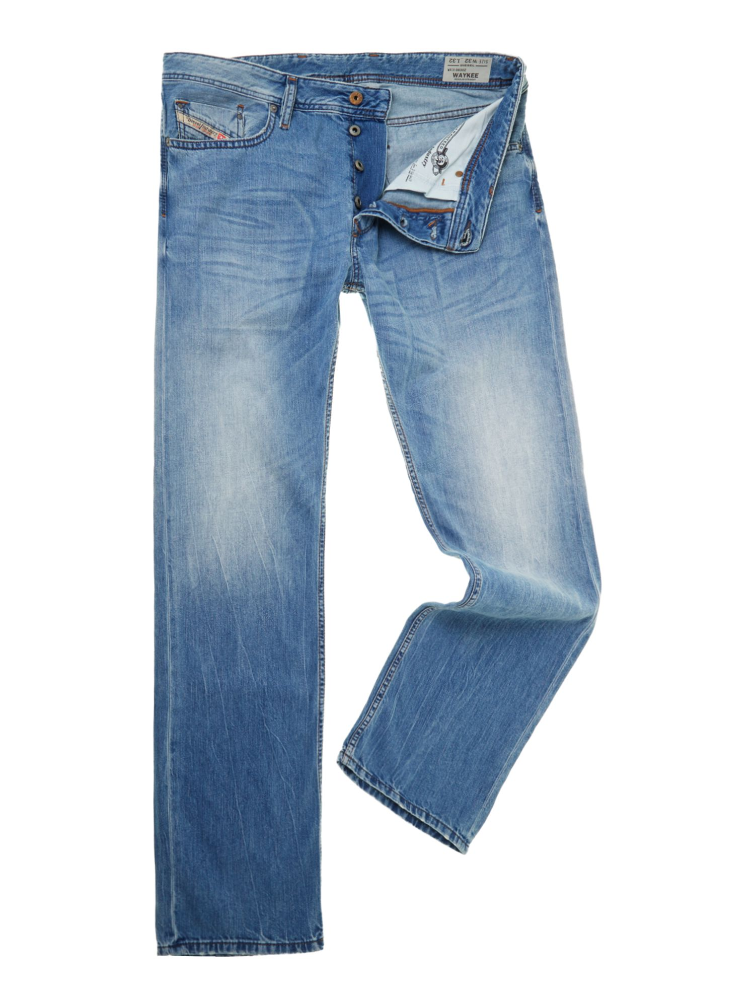 WAYKEE 830Z regular straight leg jeans