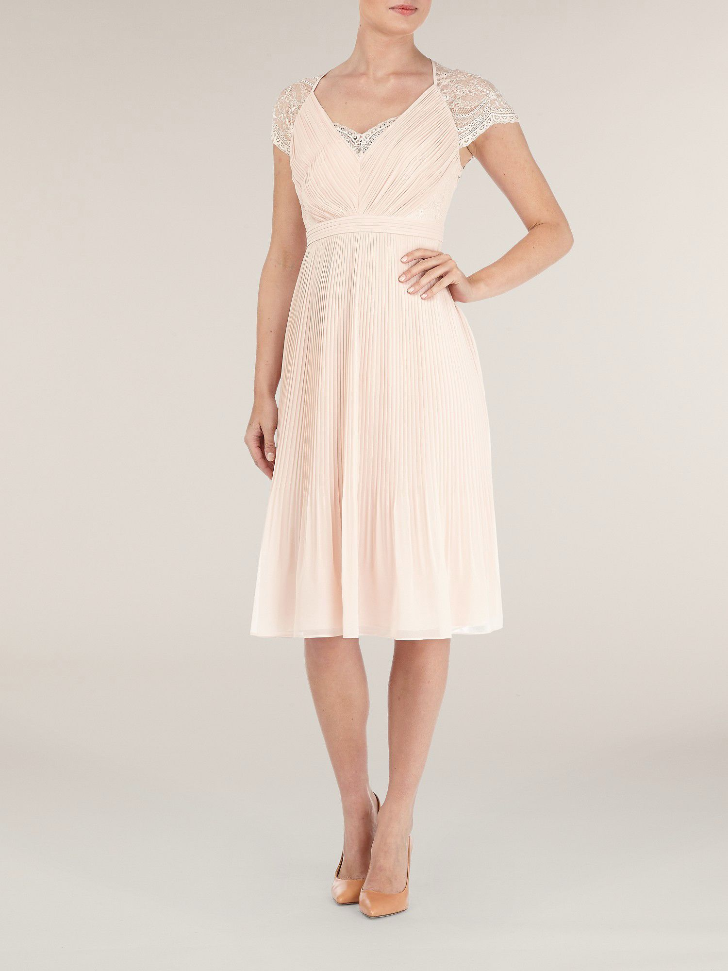 Middleton pleat dress