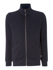 Wallinger funnel neck zip sweater