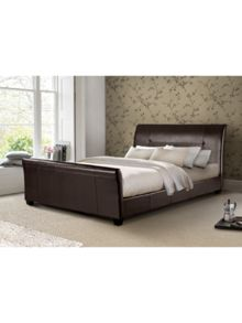 Double brown florence bed