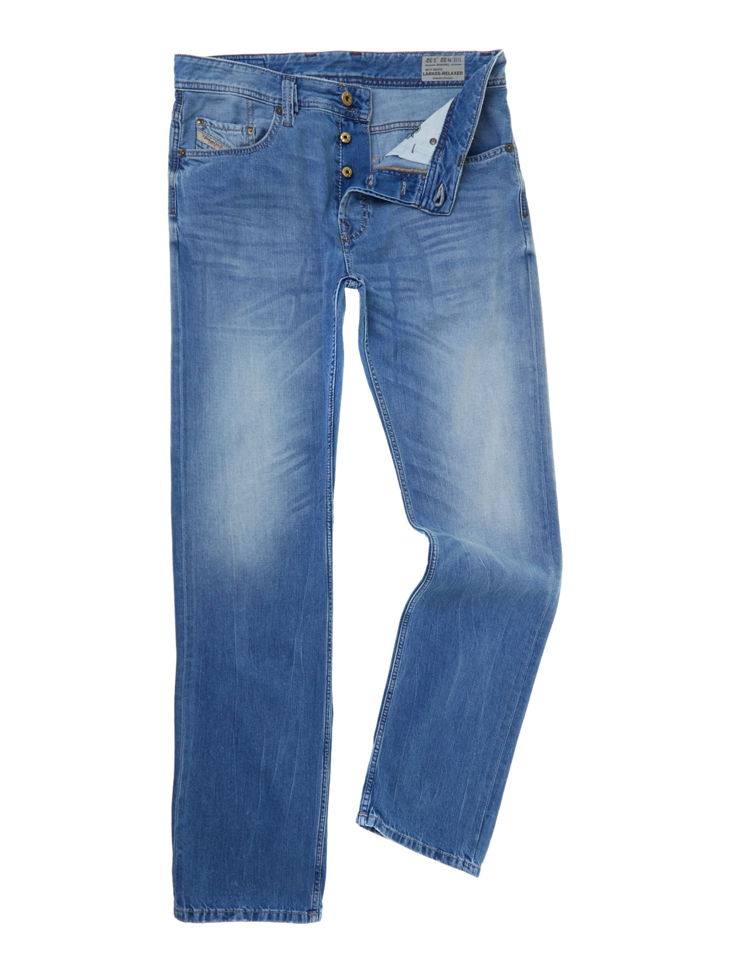 Larkee 830Z relaxed straight leg jeans