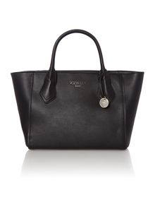 Mani black tote bag