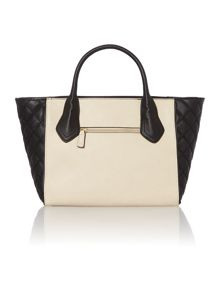 Mani monochrome tote bag