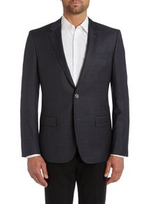 Hutsons slim fit check jacket