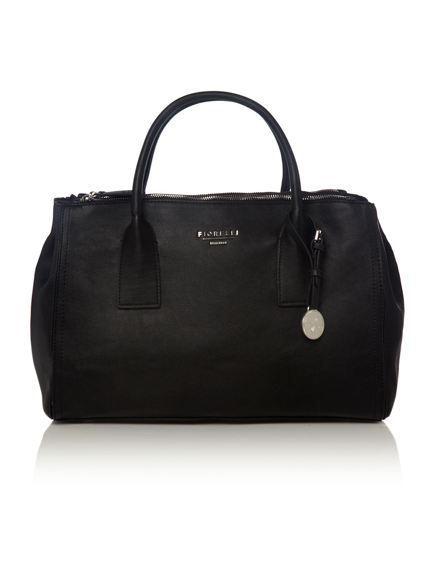 Nikki black tote bag