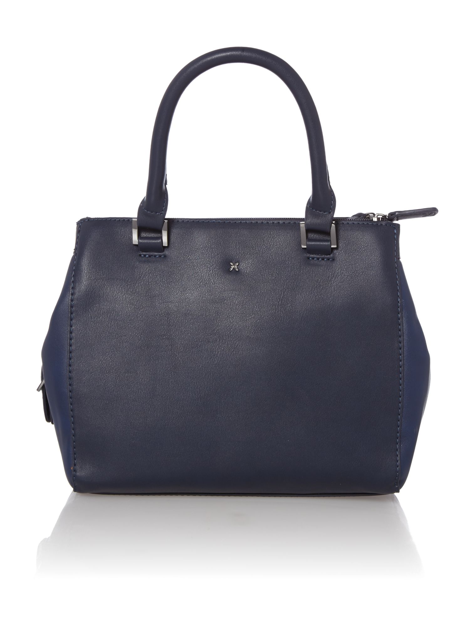 Mia navy small cross body tote bag