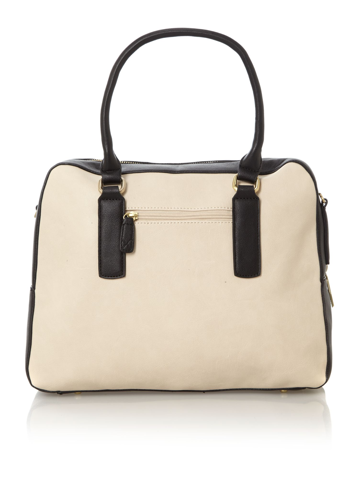 Sienna monochrome box tote bag