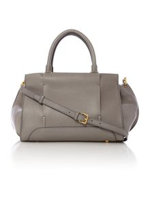 Grey medium cross body bag