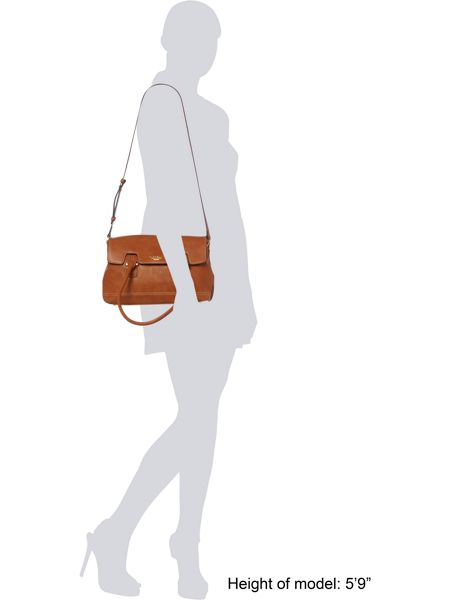 Fiorelli Olivia Jade tan flap over tote bag