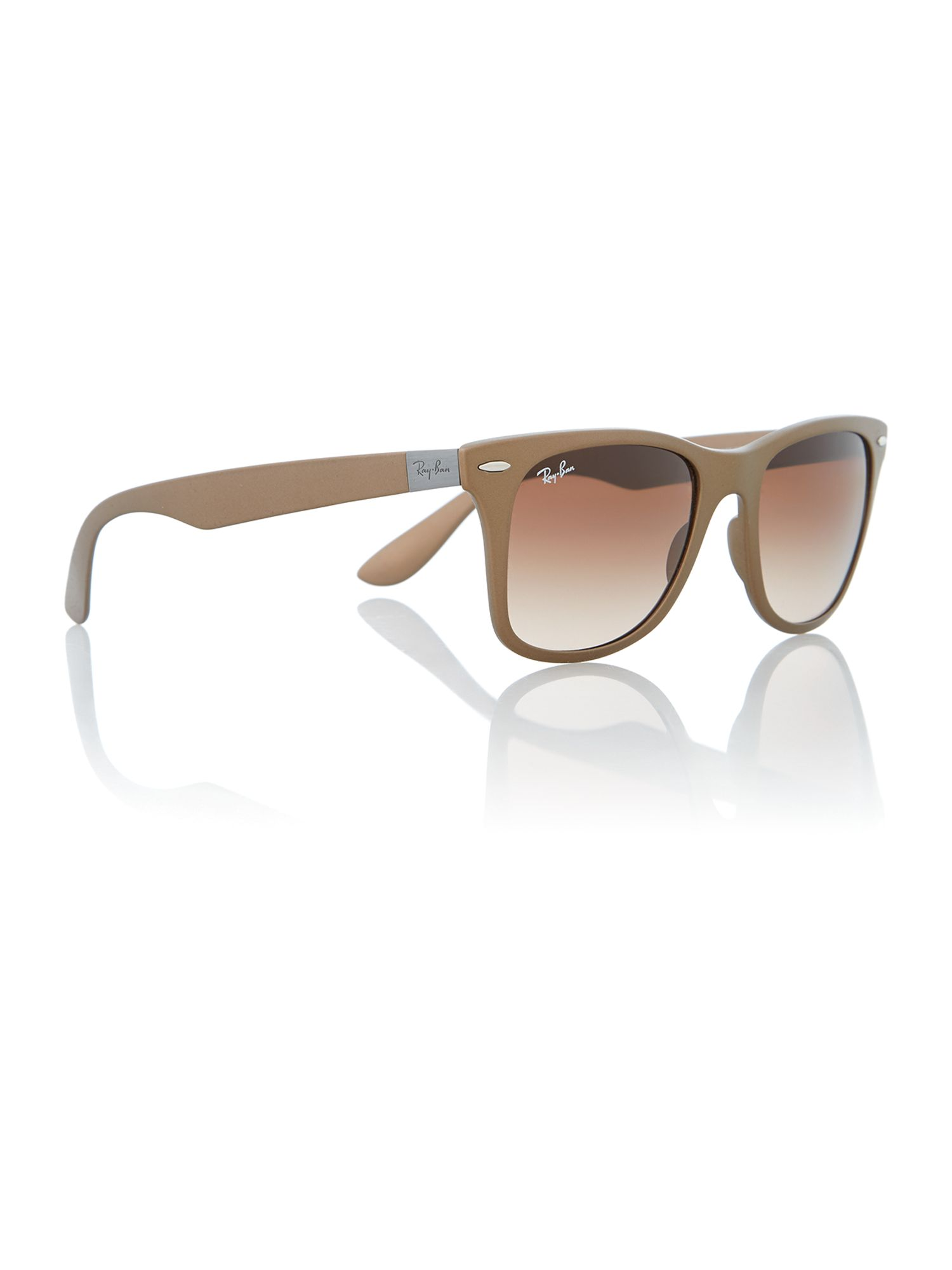 Ray-ban men`s brown square sunglasses