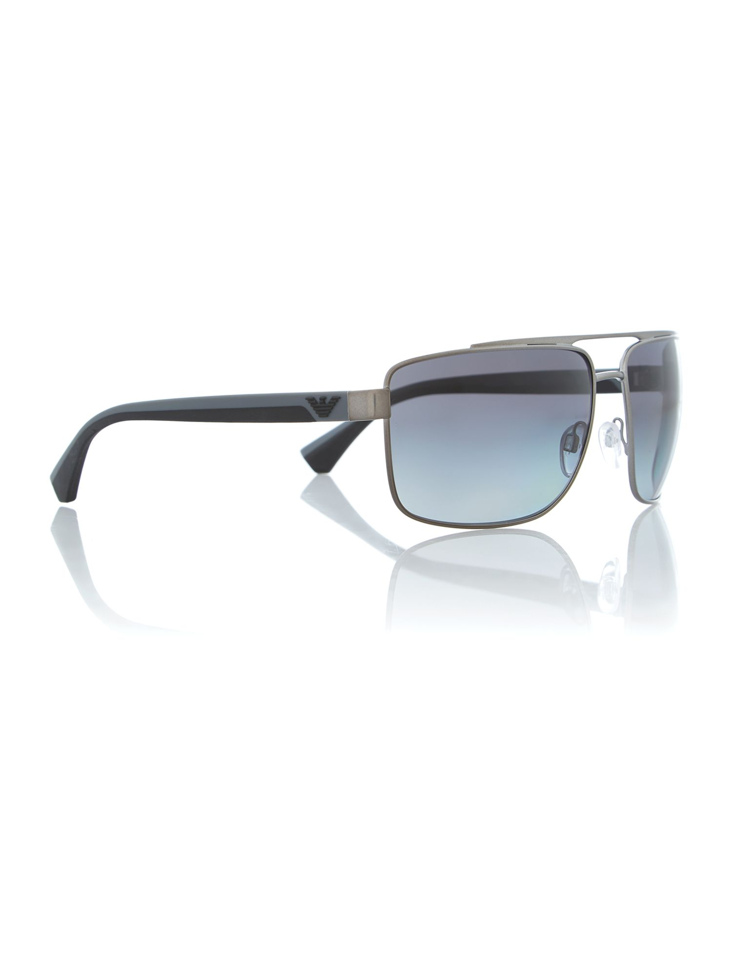 Black rectanglar sunglasses