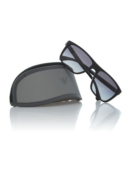 Emporio Armani Black square sunglasses