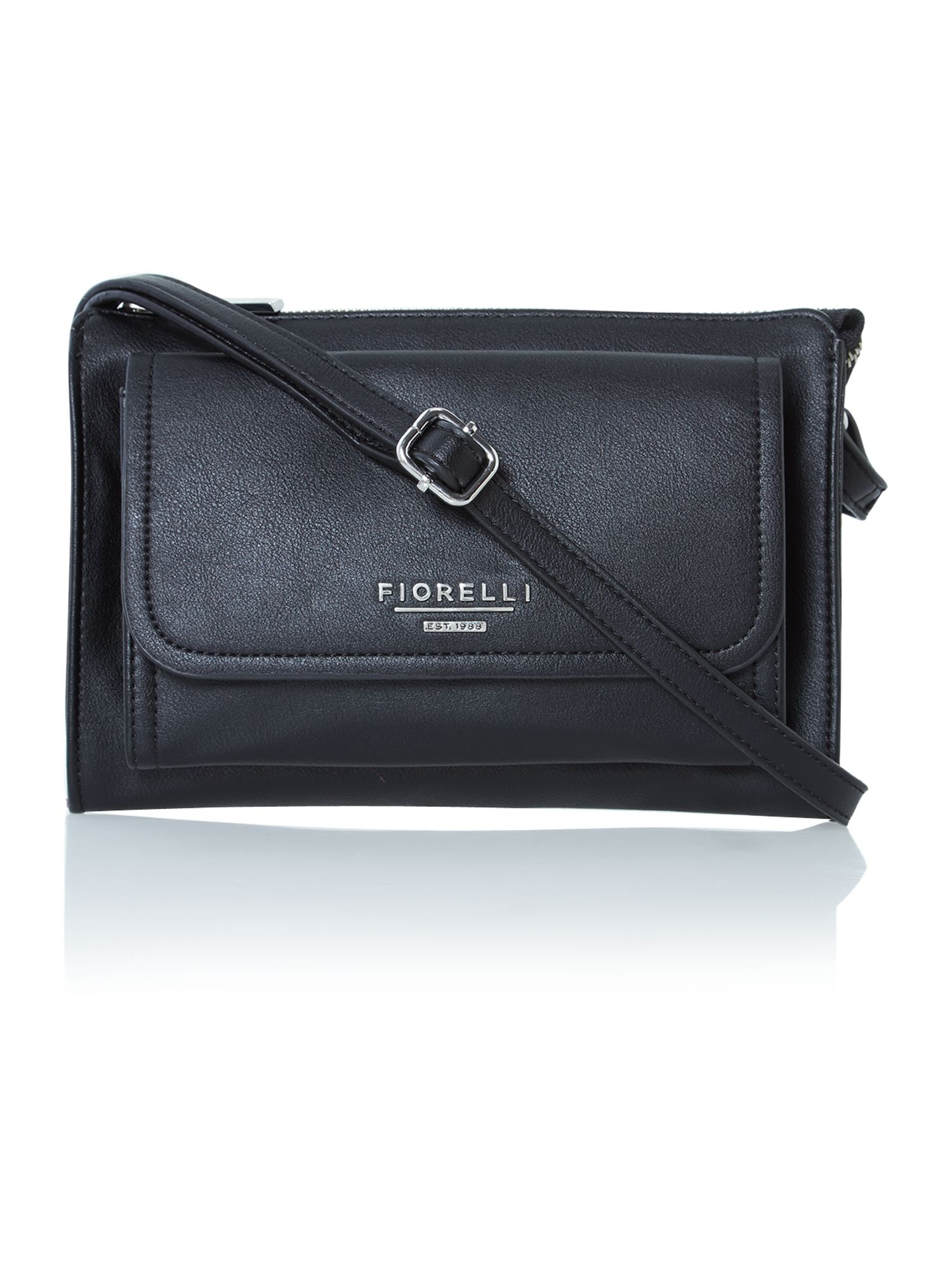 Tessa black small cross body bag