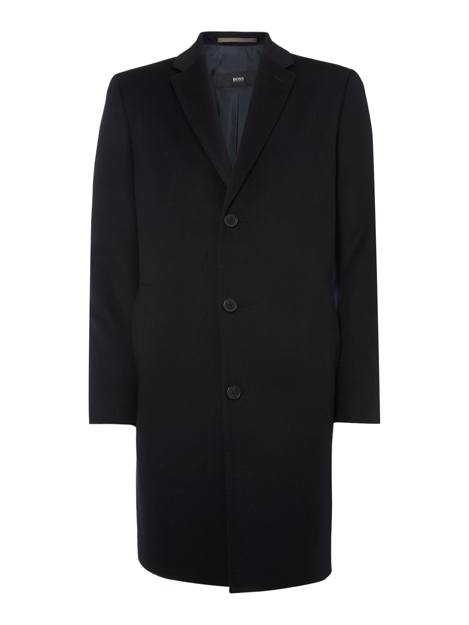 Stratus button through long coat