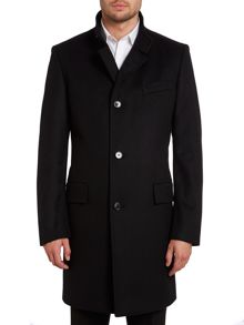 Sintrax stand up collar coat