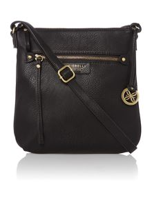 Phoebe black cross body bag