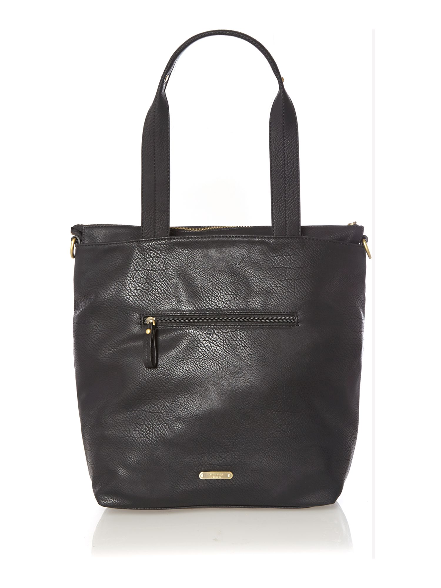 Robyn black tote bag